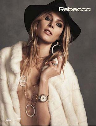 rebecca gioielli modella