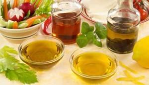 Condimenti light per verdure, insalate, carni e pesci