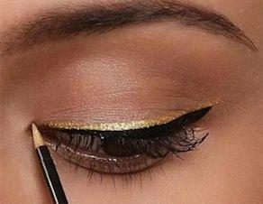 Eyeliner oro