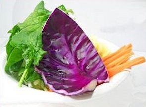 Insalata light di cavolo e carote